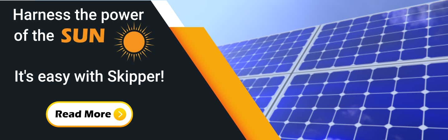 Solar Energy services provided by Skipper!